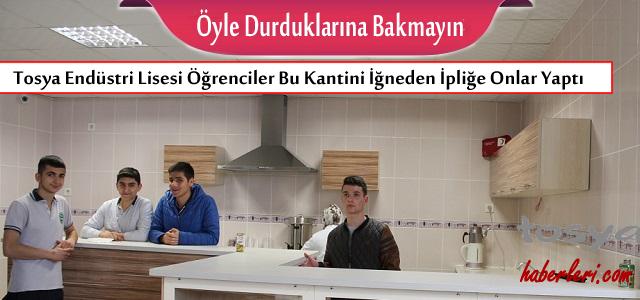 Tosya Mesleki ve Teknik Anadolu Lisesi Öğrencileri Bunuda Yaptı..