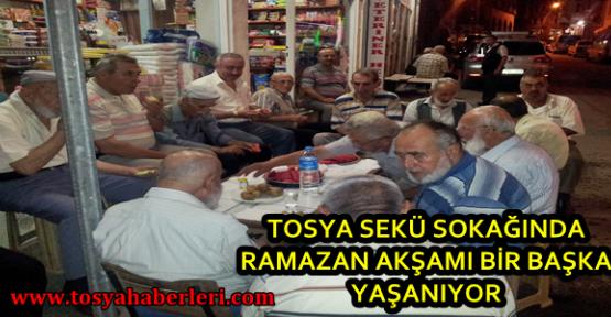 Tosya Seki Sokağında Yaşayan Ramazan Geleneği