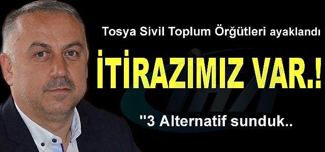 TOSYA SİVİL TOPLUM ÖRĞÜTLERİ İTİRAZ EDİYOR