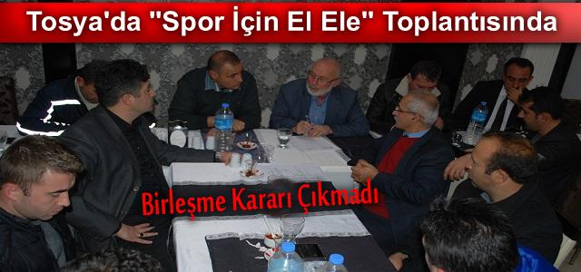 TOSYA, SPOR İÇİN ELE ELE VERDİ