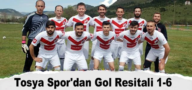 Tosya Spor'dan Gol Resitali 1-6