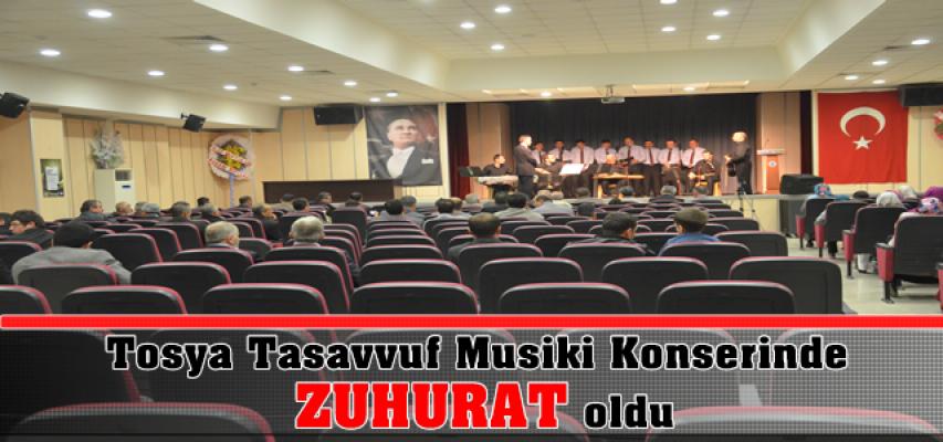 TOSYA TASAVVUF MUSİKİ KOROSUNDA ''ZUHURAT'' OLDU