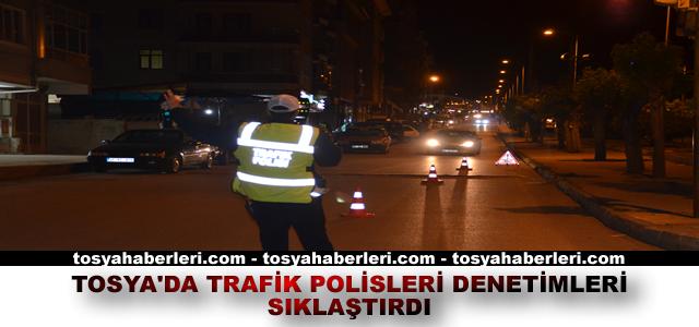 TOSYA TRAFİK'TEN ALKOL DENETİMİ