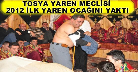 Tosya Yaren Meclisi 2012 Yılı İlk Ocağını Yaktı