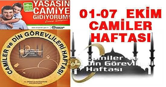 Tosya'da Camiler Haftası Kutlanıyor