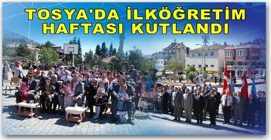 Tosya'da Eğitim Haftası Kutlandı