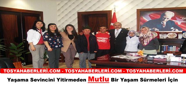 TOSYA'DA ENGELLİLER HAFTASI ZİYARETİ