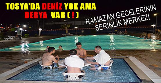 Tosya'da Geceleri Havuz Sefası