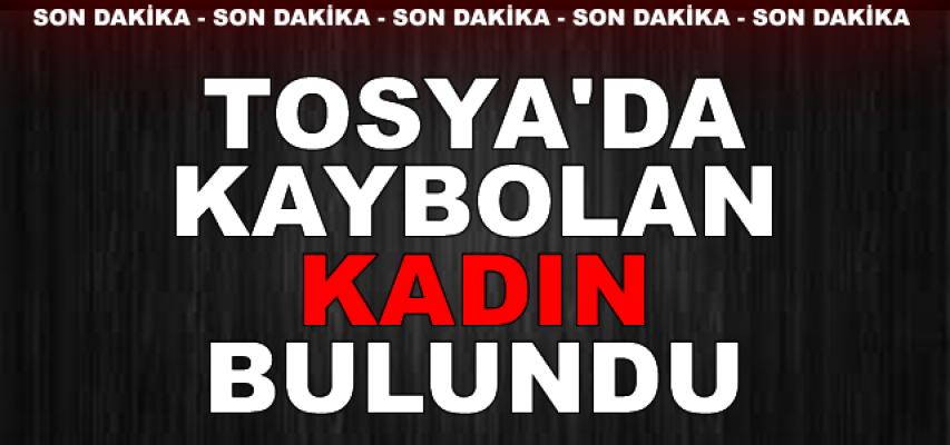 Tosya'da Kaybolan Kadın Bulundu (Son Dakika)