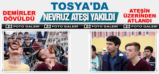 Tosya'da Nevruz Bayramı Etkinliklerle Kutlandı