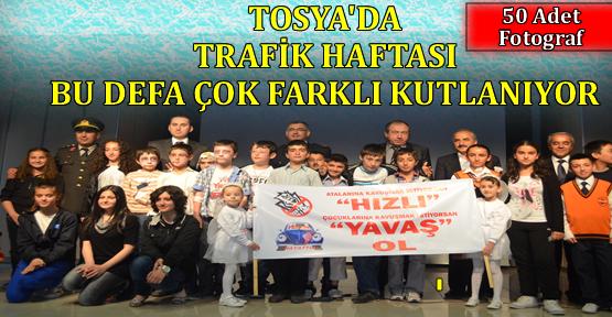 Tosya'da Trafik Haftası Çok Farklı Kutlanıyor