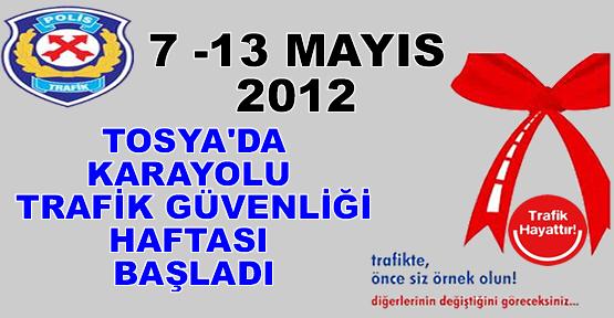 Tosya'da Trafik Haftası Etkinlikleri Başlıyor