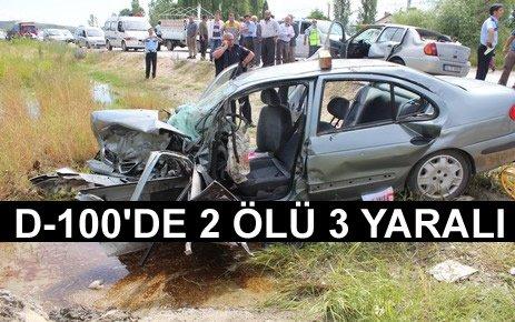 Tosya'da Trafik Kazası 2 Ölü 3 Yaralı Son Dakika