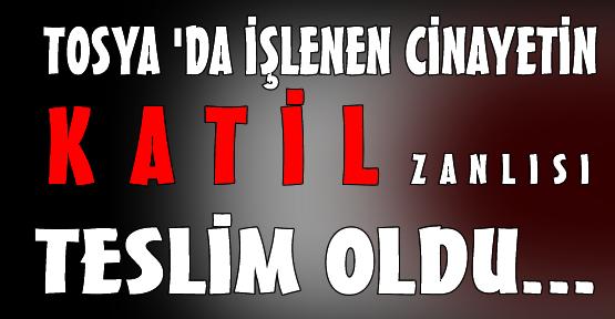 Tosya'daki Cinayet Zanlısı Yakalandı..!