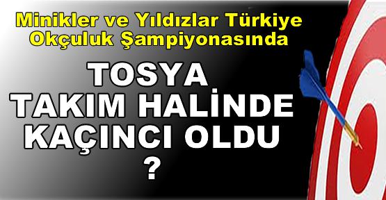 Tosyalı Minikler ve Yıldızlar Türkiye Okçuluk Şampiyonasında