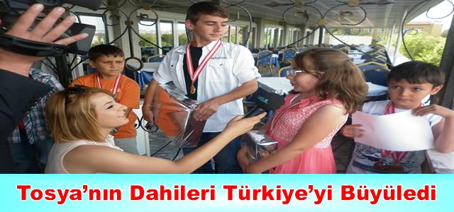 Tosya'nın Dahileri Türkiye'yi Büyüledi