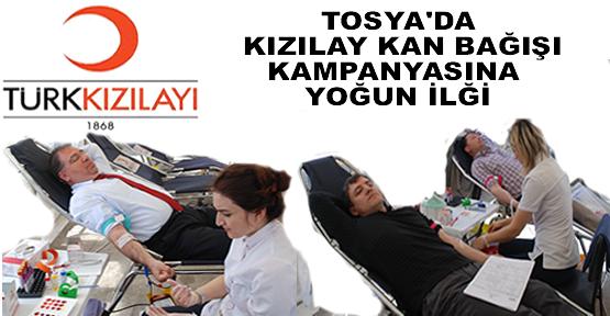 Tosy'da Kızılay Kan Bağışı Kampanyası