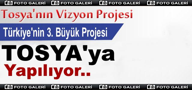 TÜRKİYE'NİN 3.BÜYÜK KAVŞAK PROJESİ TOSYA'YA YAPILIYOR