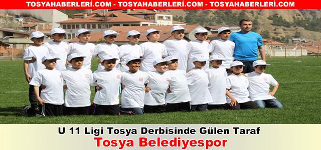 U 11 Ligi Tosya Derbisinde Gülen Taraf Tosya Belediyespor Oldu