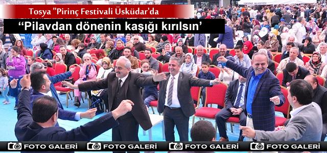 ÜSKÜDAR 'DA İLK DEFA YAPILAN ''PİRİNÇ FESTİVALİ''İSTANBUL'A RENK KATTI