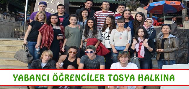 Yabancı Öğrenciler Tosya Halkına