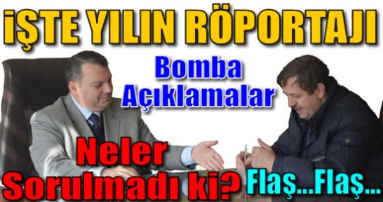 Yılın Röportajı : Tosya TSO Başkanı Mesut Güvercin'den Bomba Açıklamalar