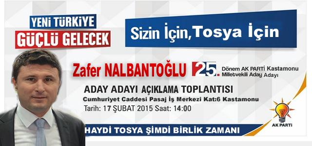ZAFER NALBANTOĞLU ''ŞİMDİ BİRLİK ZAMANI''