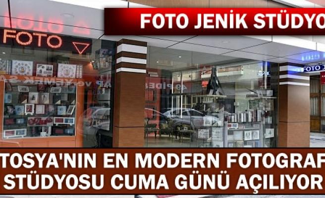 TOSYANIN EN MODERN FOTOGRAF STÜDYOSU AÇILIYOR