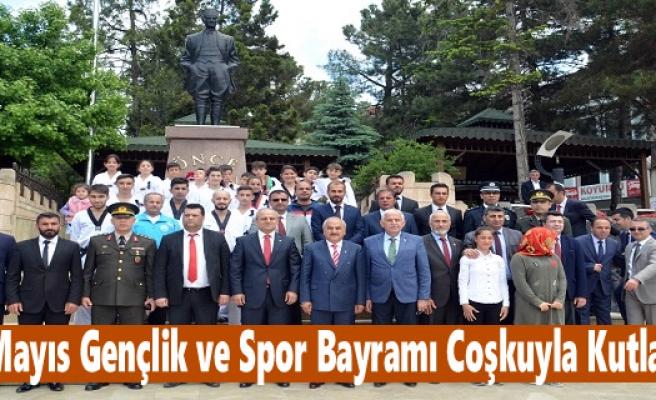 19 Mayıs Gençlik Bayramı Tosya'da Coşkuyla Kutlandı