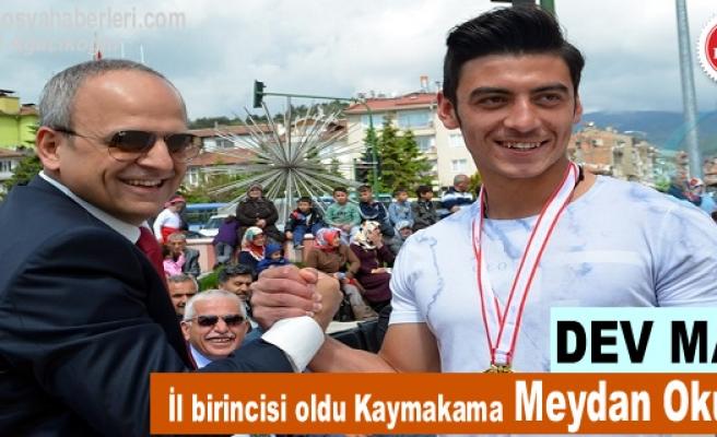 KAYMAKAMA ''HODRİ MEYDAN'' DEDİ