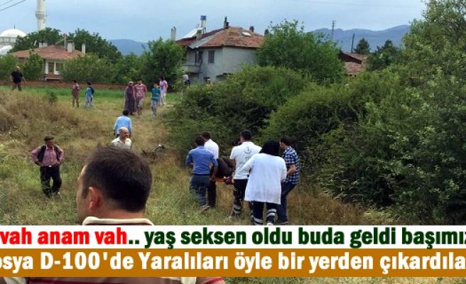 TOSYA TRAFİK KAZASI 3 YARALI
