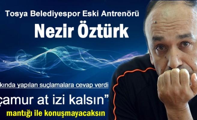 Tosya Belediyespor Eski Antrenöründen Suçlamalara sert cevap