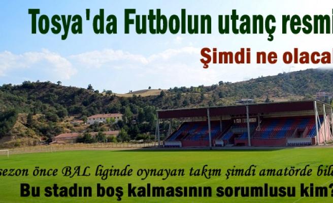 Tosya'da Futbolun Resmen bittiği gün