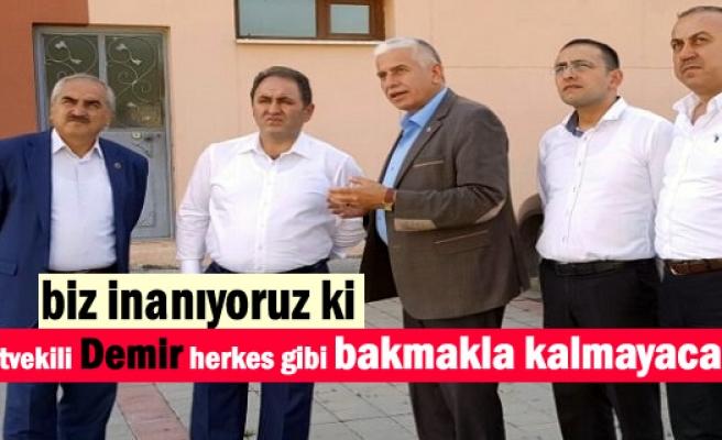 Milletvekili Murat Demir Tek Derdinin Hizmet olduğunu söyledi