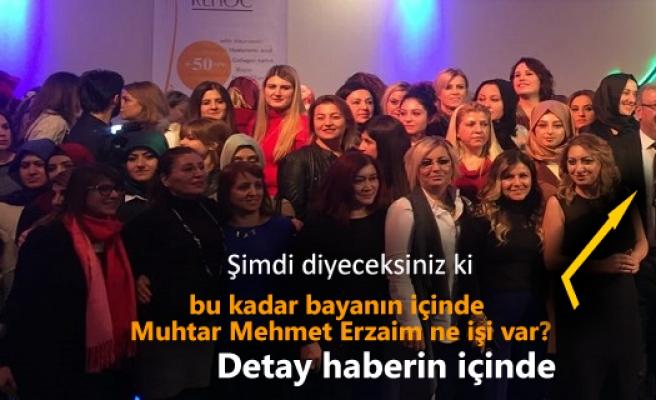 Güzellik Salonu İşletmecileri Başkan Mehmet Erzayım'a  Plaket
