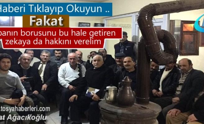 Tosya Yenidoğan Köyünde Çiftçilere Gece Eğitimi