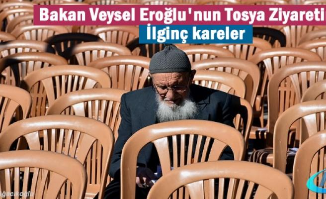Bakan Veysel Eroğlu Tosya Ziyaret Resimleri