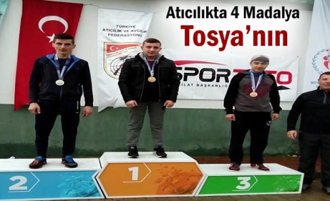 Tosyalı Sporcular Türkiye Atıcılık Yarışmasında 4 Madalya Kazandı