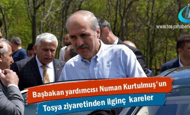 Başbakan Yardımcısı Numan Kurtulmuş'un Tosya Ziyaretinden görüntüler