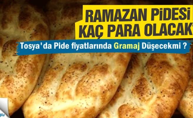 Tosya'da Ramazan Pidesinde sürpriz gelişme
