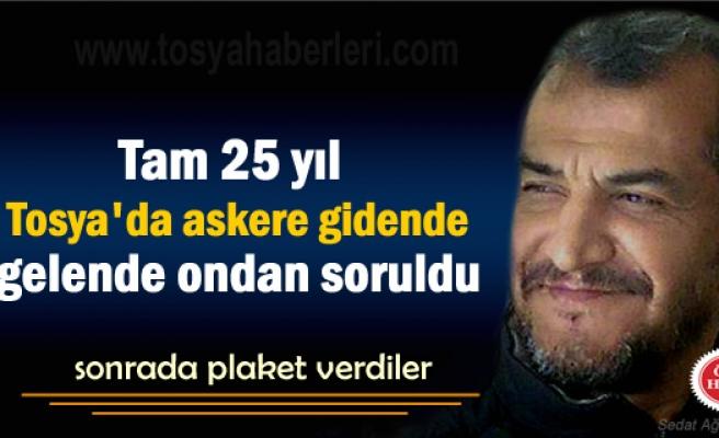Tosya'nın 25 yıl Anasını ağlattı sonra Emekli oldu