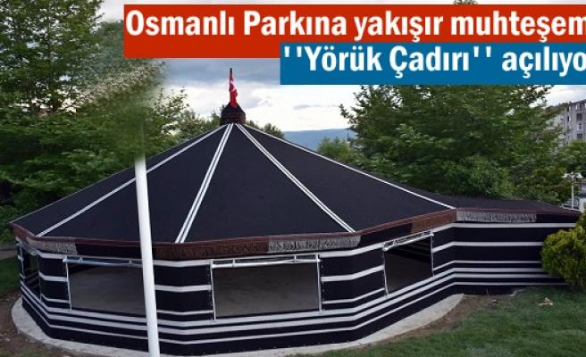 Tosya Osmanlı Parkta Yörük Çadırı Hizmete Açılıyor