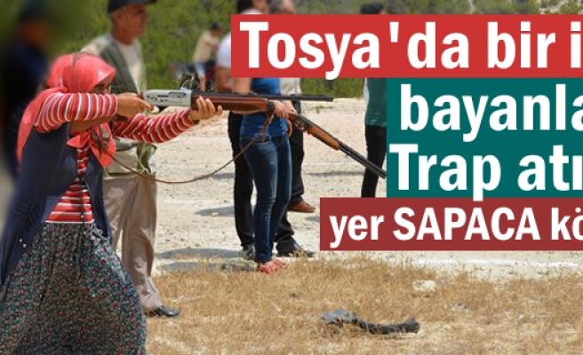 Tosya'da Bayanlarda Trap Atışı Yapılacak