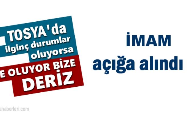 Tosya'da Sendika Başkanına hakarette bulunan İmam Açığa alındı