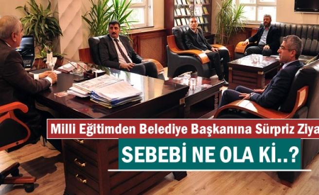 Tosya Milli Eğitim'den Başkan Kazım Şahin'e Sürpriz Ziyaret