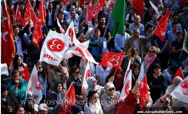 MHP Tosya İlçe Başkanlığından 12. Olağan Büyük Kurultay Açıklaması