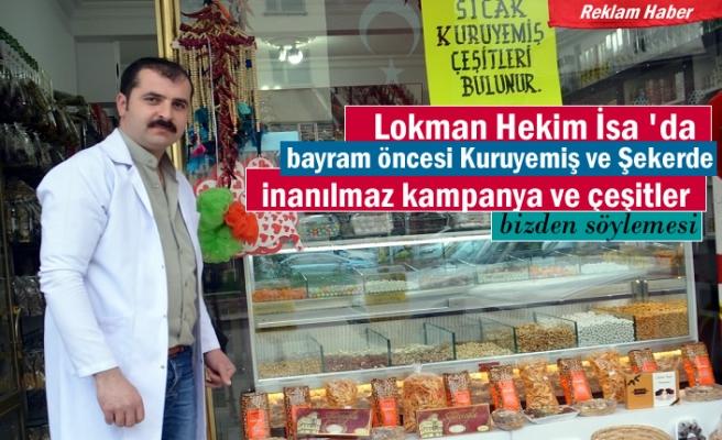 Lokman Hekim Ramazan Bayramına Şeker ve Kuruyemiş çeşitleri ile hazır