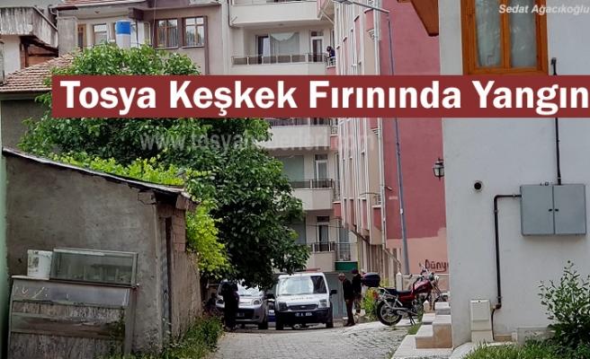 Tosya'da Keşkek Fırınında Yangında Panik Yaşandı