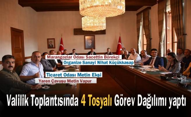 Kastamonu Ahşap Fuarı Toplantısında Tosyalılara Önemli Görev Verildi
