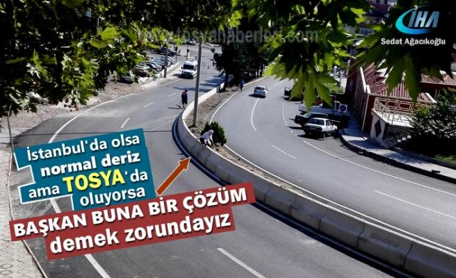 Tosya'da bu kadarda olmaz detirten olay yaşandı